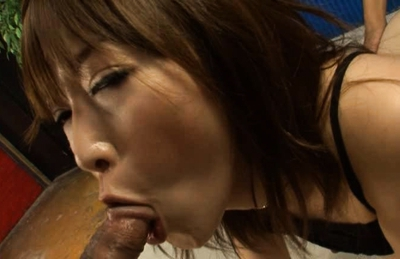 Alluring anal sex lover Sayaka Tsuzi enjoys hardcore Japanese ass sex