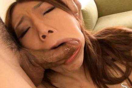 Gorgeous milf Aoi Yuuki gets her anal gape banged incredibly hard