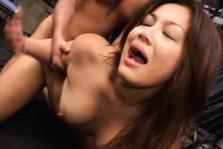 Delicate Asian milf Yuka Matsushita exposes her anal for fucking