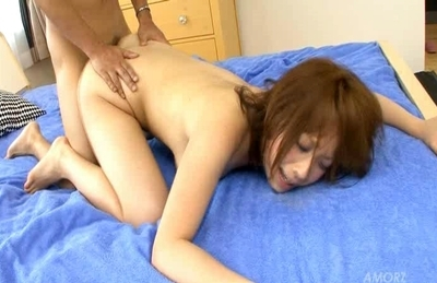 Tempting asian sex diva Hana Haruno likes anal penetration and hot sex